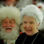 Santa with Fairy Godmother !