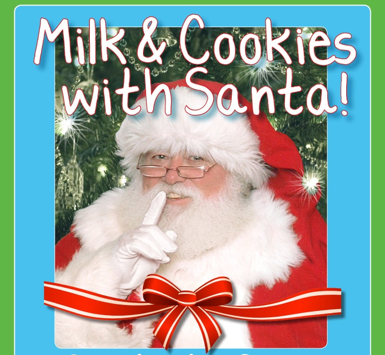 Imagination Celebration Milk And Cookies With Santa